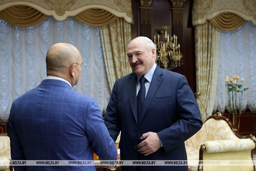 Шевченко зустрівся з Лукашенком