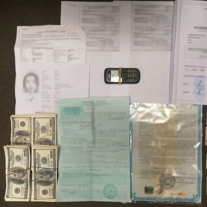 Під час обшуків вилучили гроші та документацію.