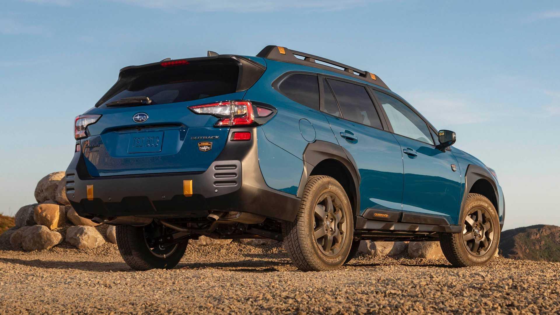 Subaru Outback Wilderness зі збільшеним кліренсом