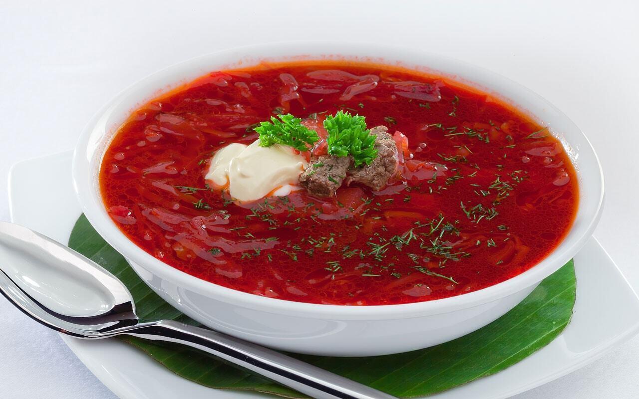 Борщ – это этническое украинское блюдо