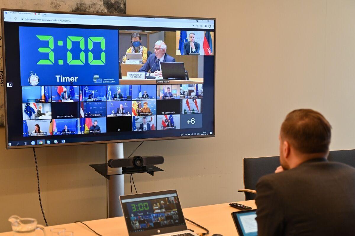 Заседание Совета министров иностранных дел Евросоюза.