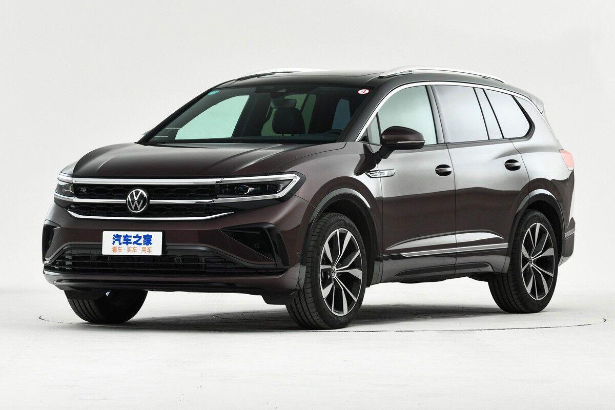 Чільну роль у сім'ї SUV від VW займе зовсім нова модель, що одержала ім'я Talagon