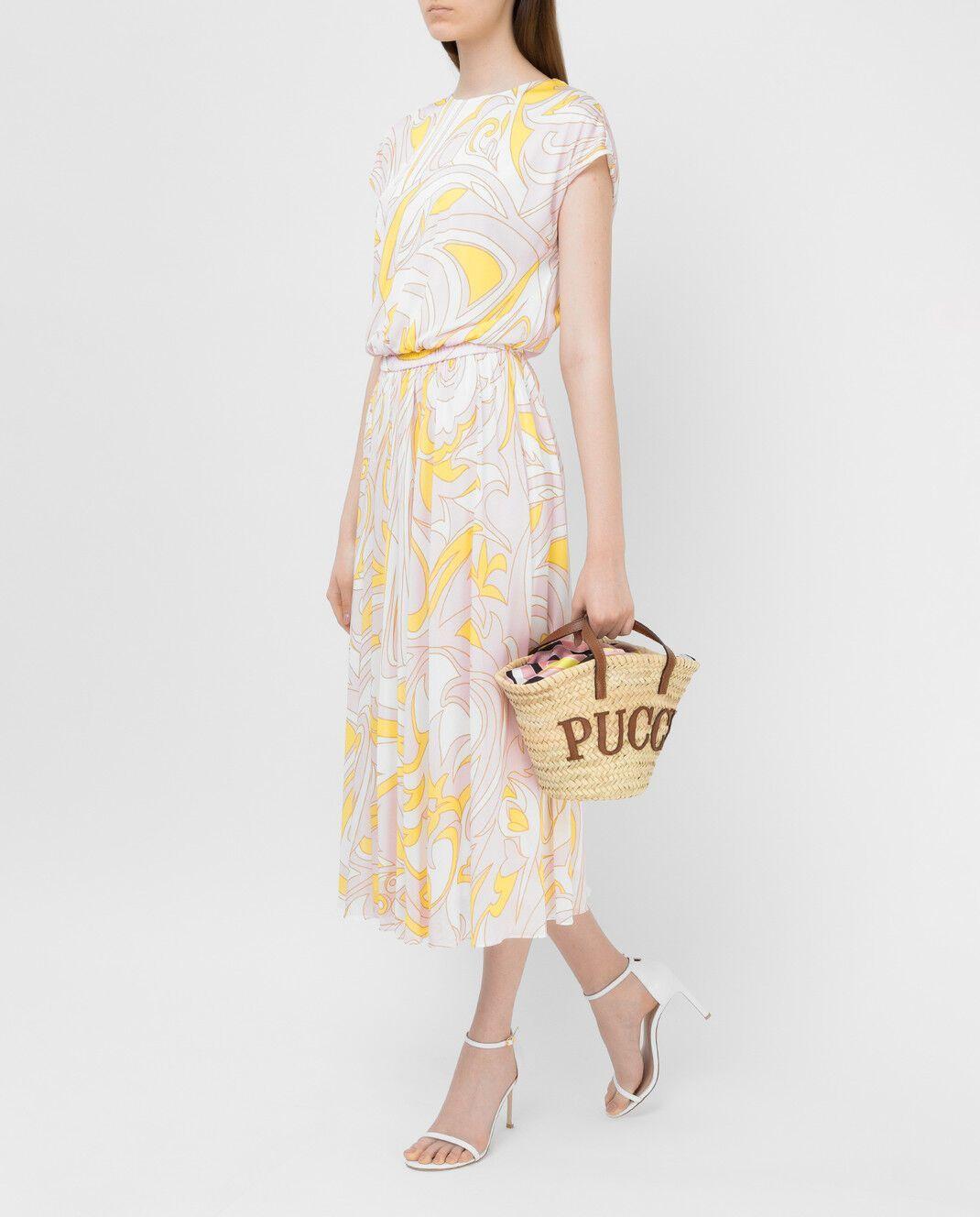 Сукня зі струмливої тканини від Emilio Pucci
