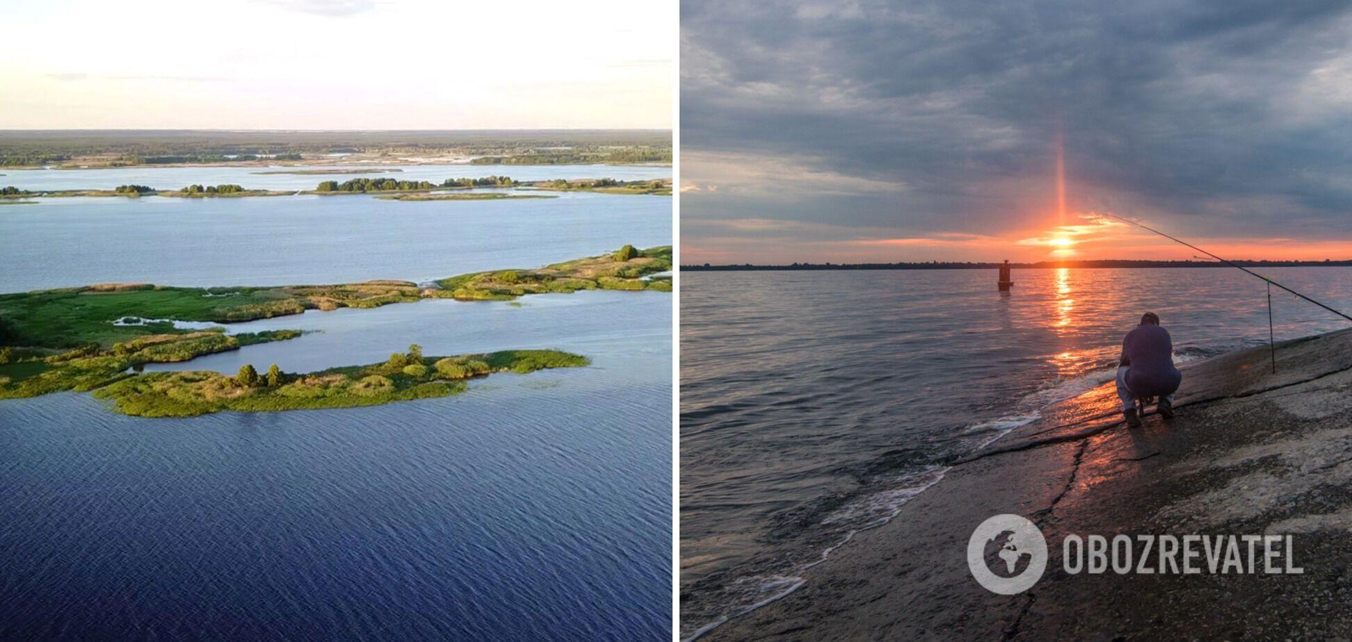 Київське водосховище відкриває неймовірні краєвиди