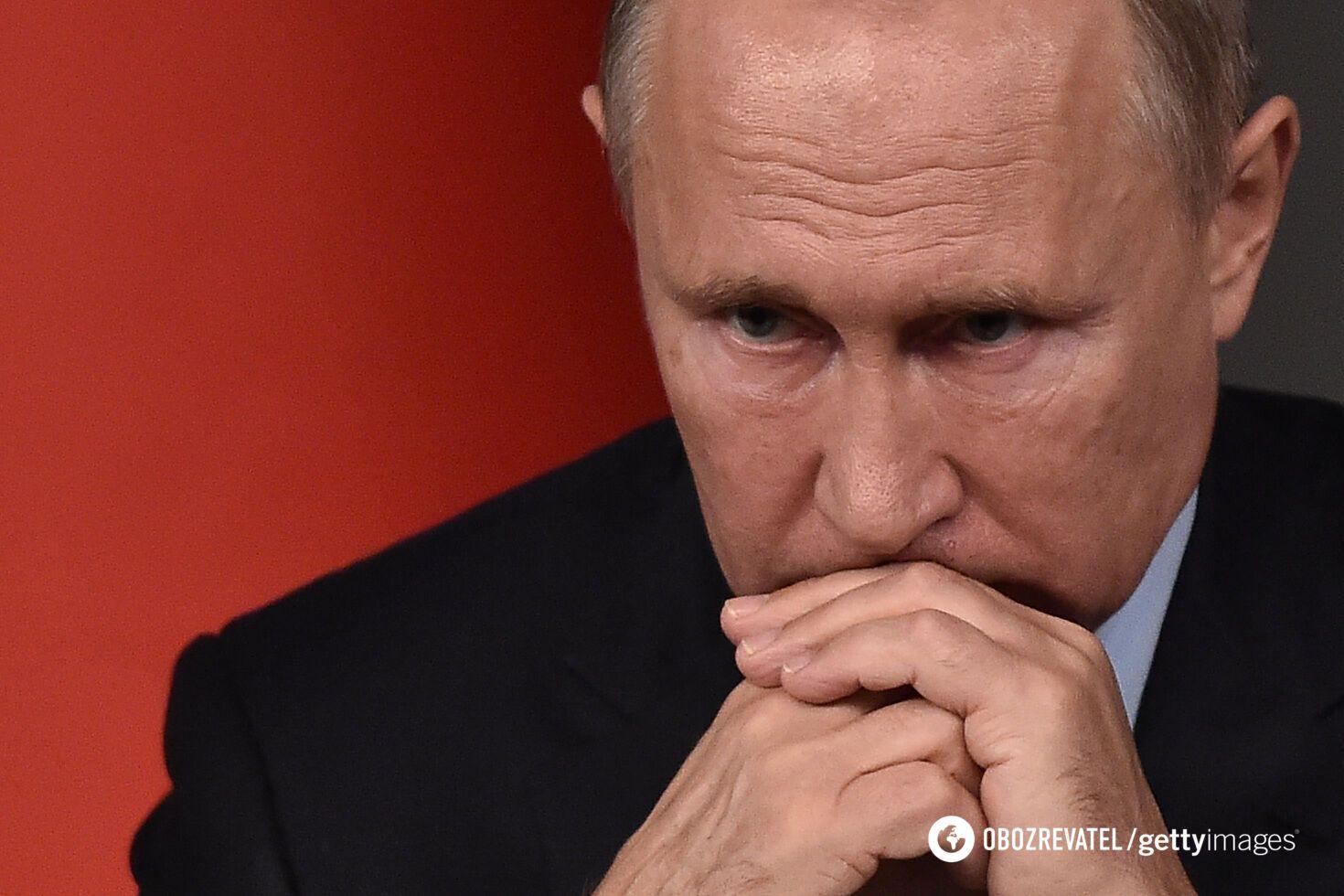 Российский президент Владимир Путин может находиться в затруднительном положении