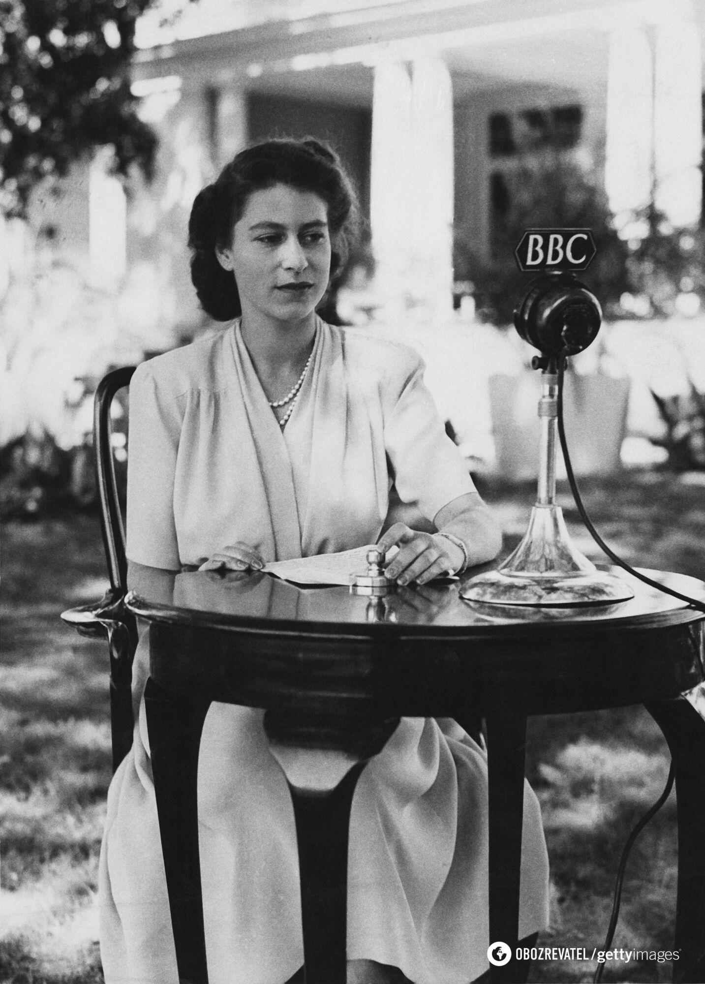 Принцеса служила в англійській армії у період війни