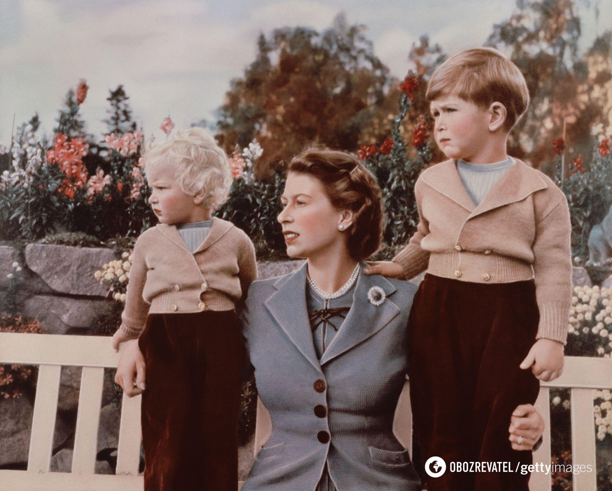 Єлизавета і Філіп виховали чотирьох дітей