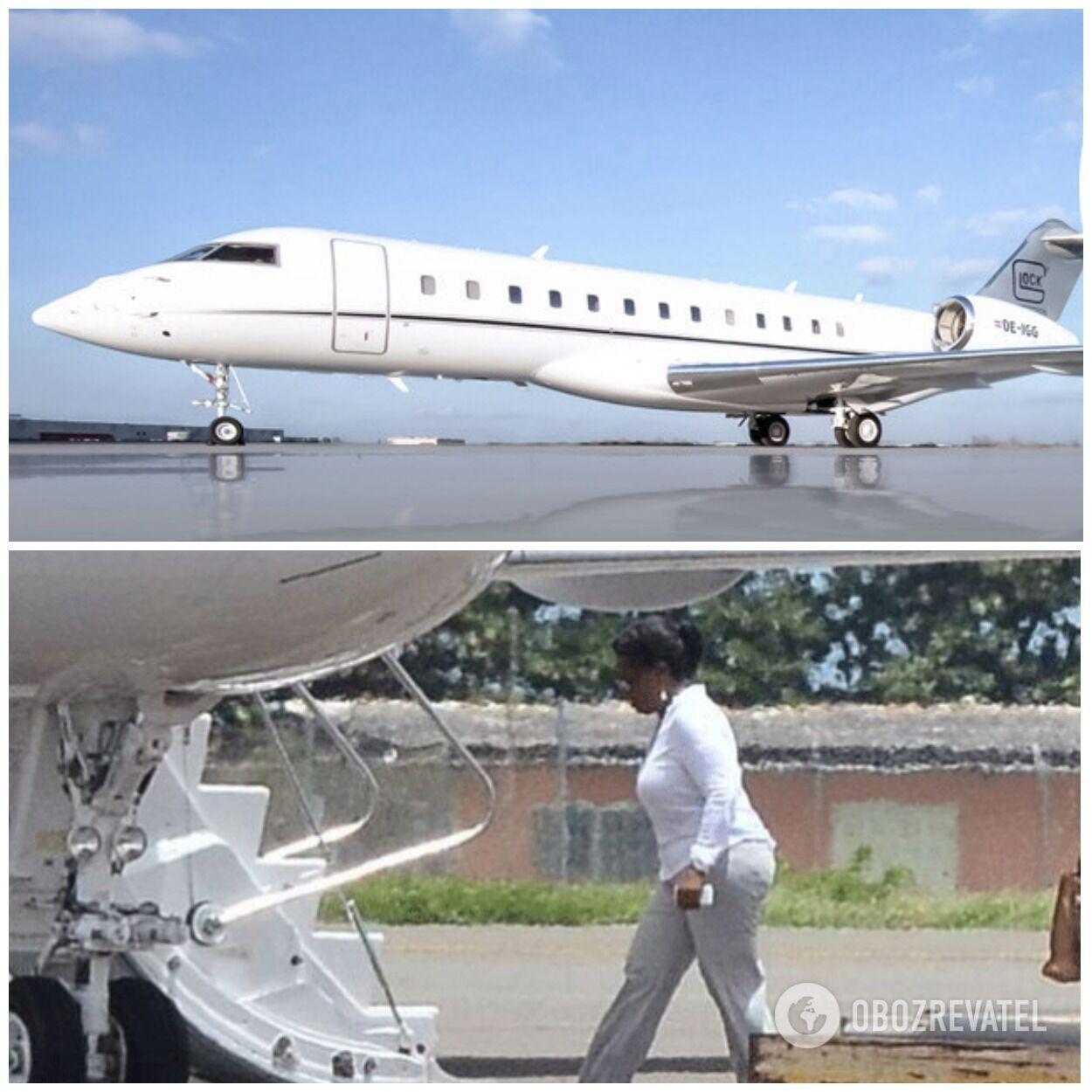 Опра Вінфрі придбала літак Global Express XRS Jet за 42 мільйони доларів