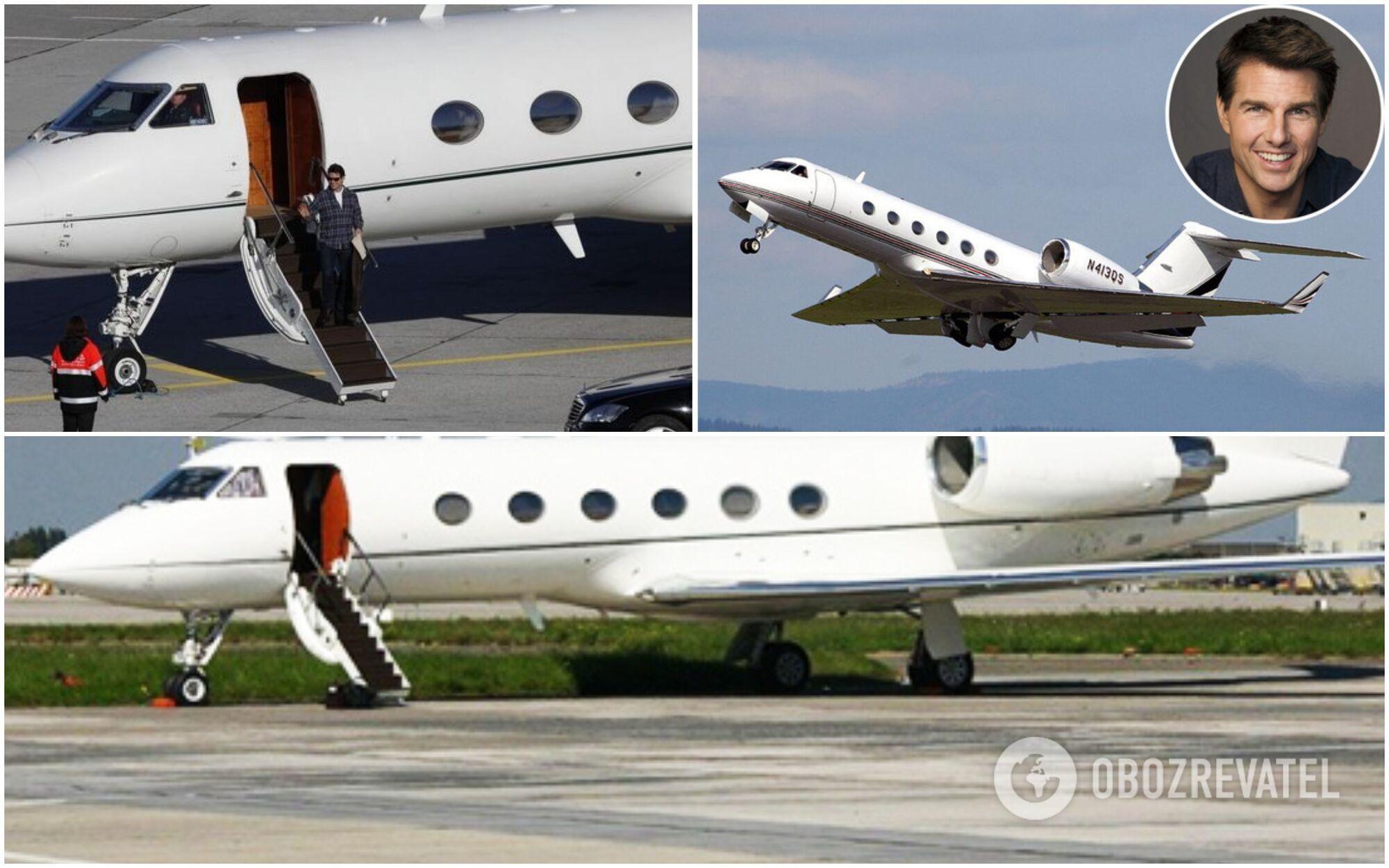 Том Круз літає на власному літаку Gulfstream IV