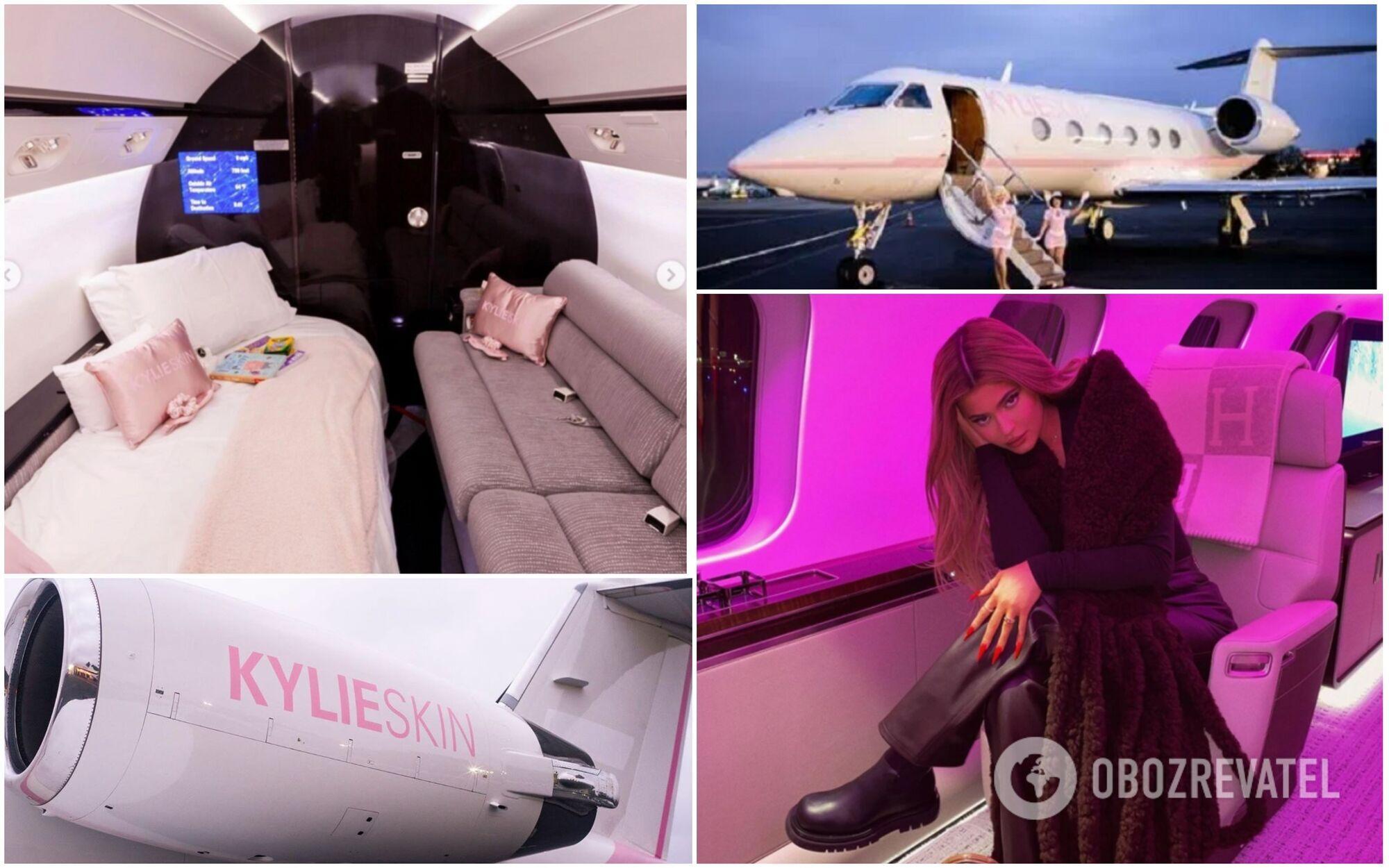 Кайлі Дженнер поки обзавелася тільки одним іменним приватним літаком