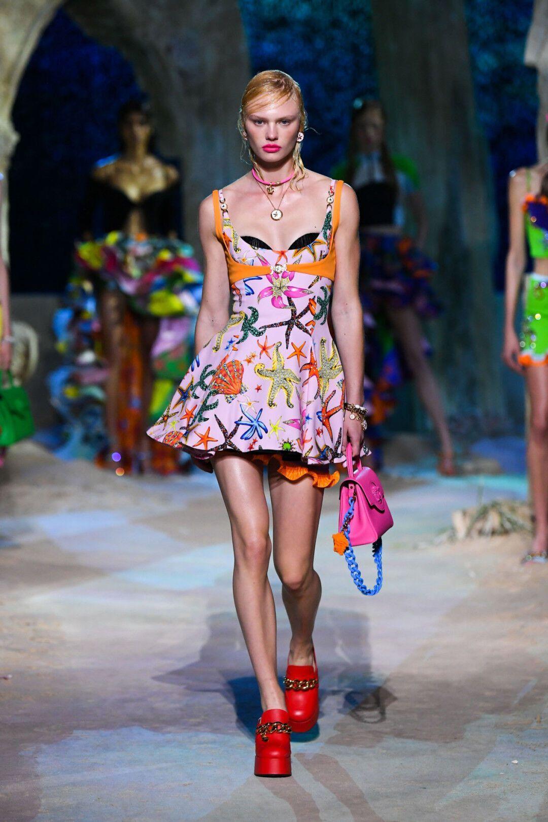 Сукня міні від Versace