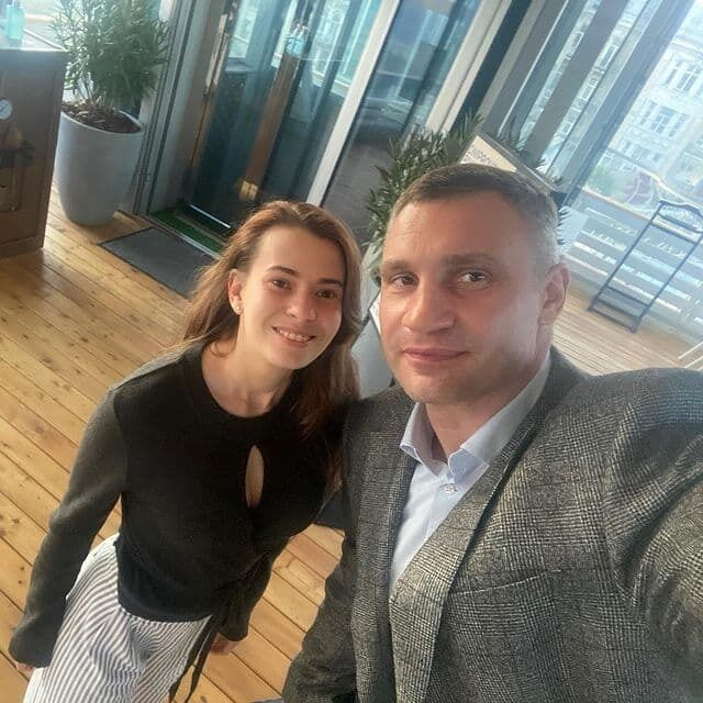 Минюкова и Виталий Кличко.