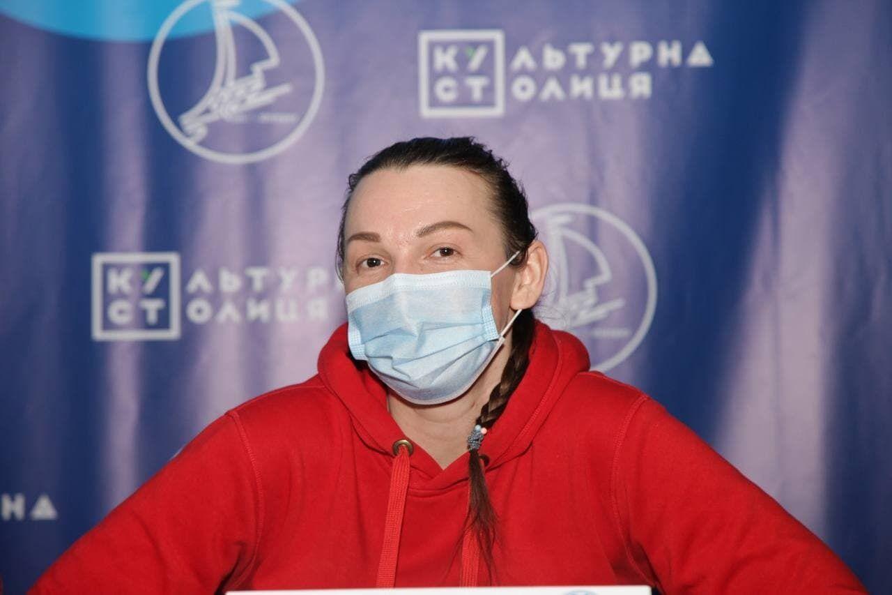 Організаторка Марія Гусєва