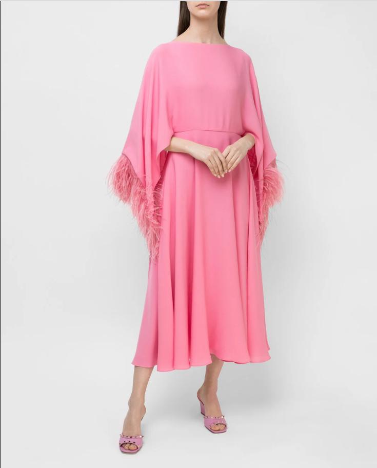 Сукня з пір'ям від Valentino