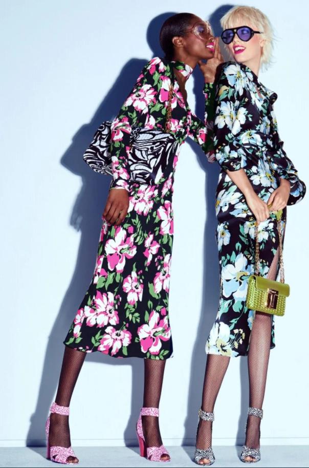 Квіткові сукні від Tom Ford