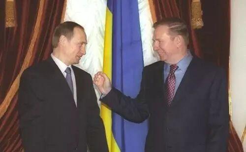 Путин и Кучма