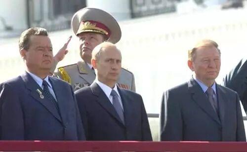 Путин на праздновании 10-летия независимости Украины