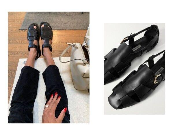 Як поєднувати сандалі з джинсами.