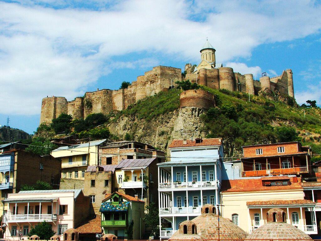 Старе місто – це історичний центр Тбілісі