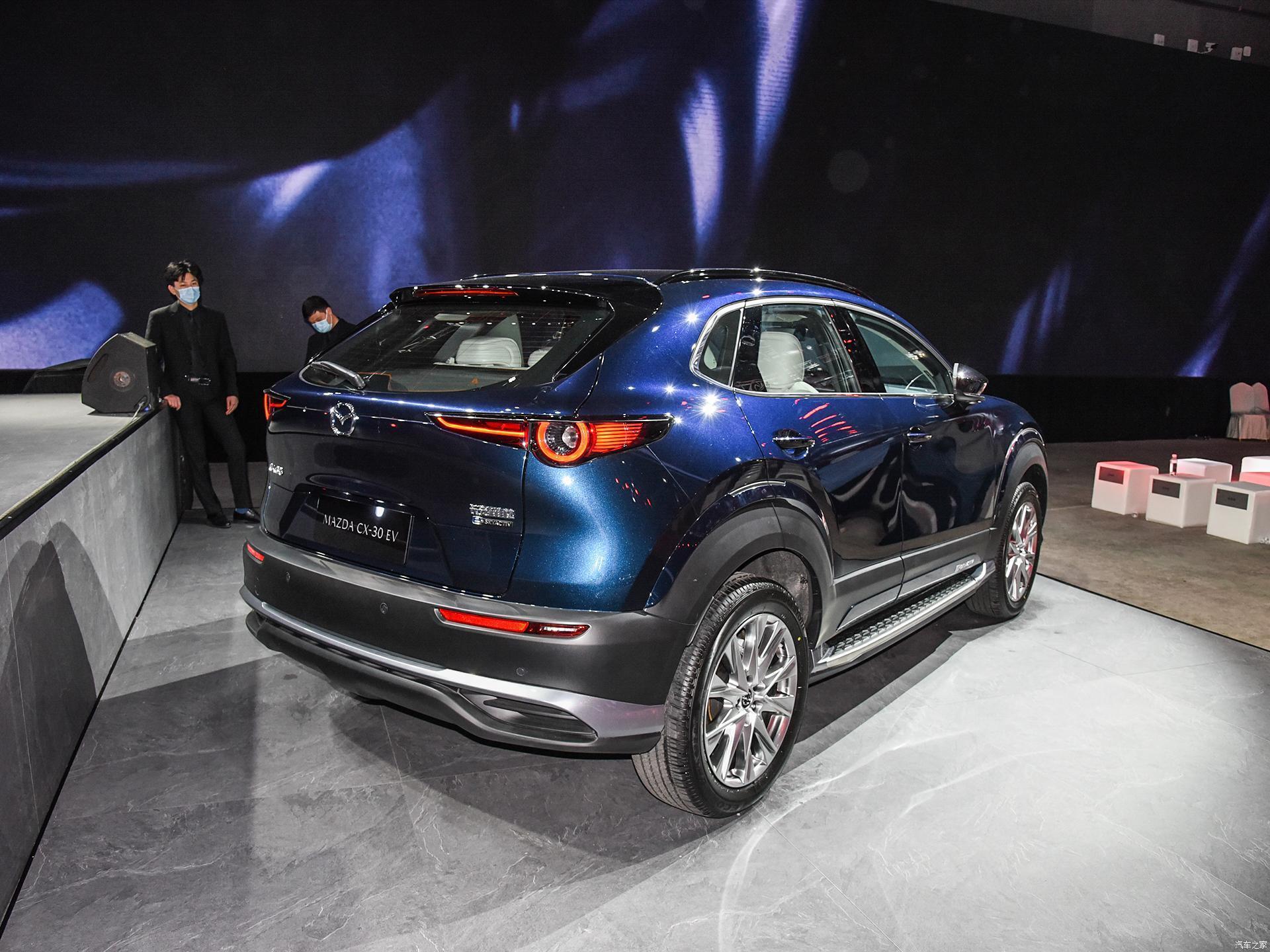 Производство новинки будет организовано на совместном предприятии Changan Mazda