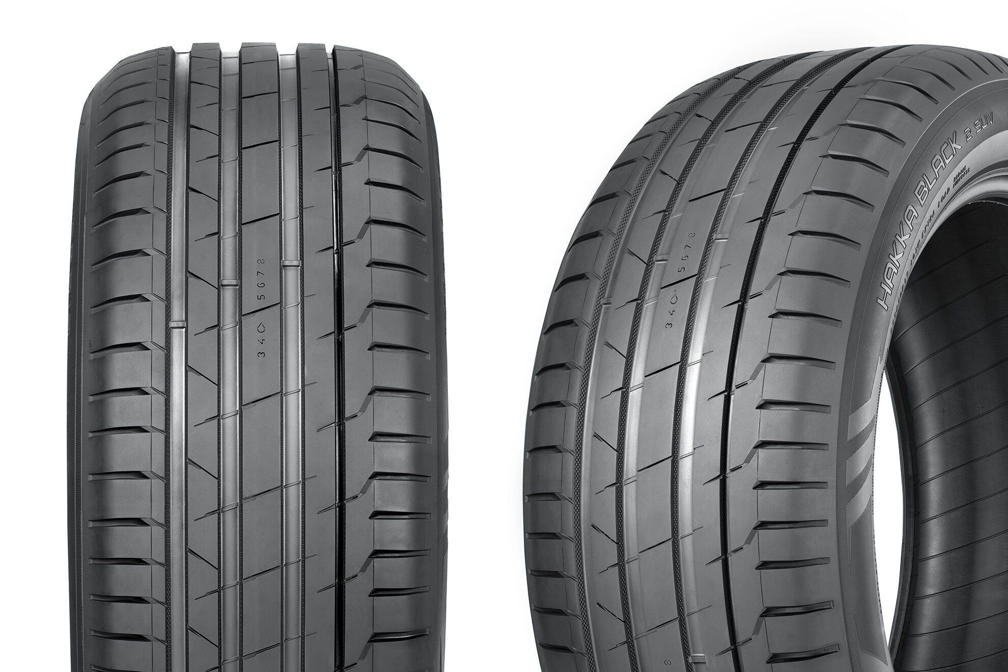 Стабильная управляемость шин Nokian Hakka Black 2 SUV порадует водителей мощных внедорожников