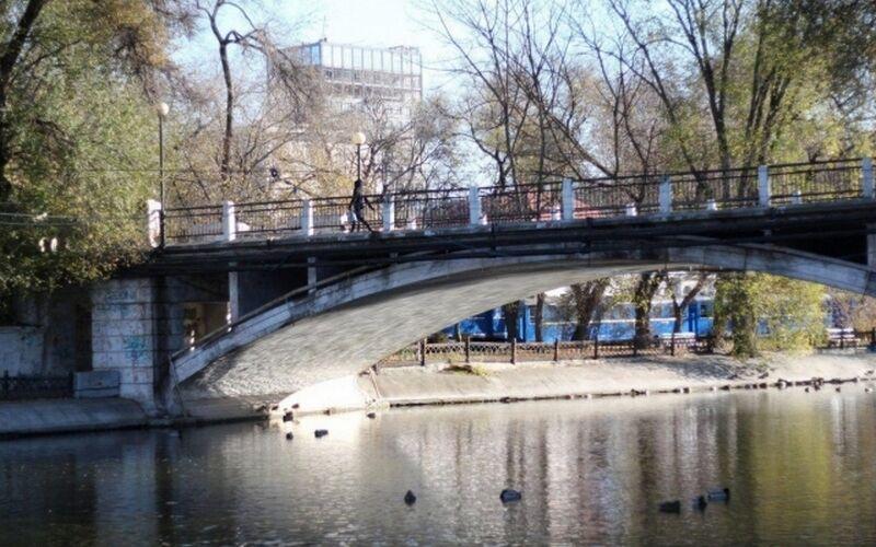 Мост в парке Глобы нуждается в срочной реконструкции