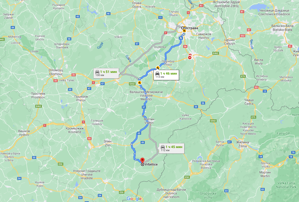 Расстояние между местом проживания оперативников и расположением склада боеприпасов.