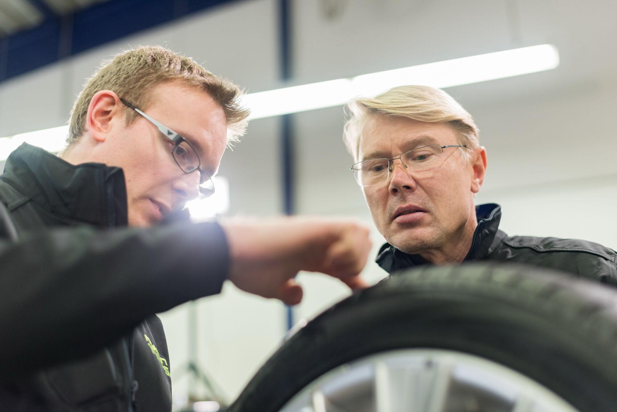 В создании и тестировании шин Nokian Hakka Black 2 принимал участие известный гонщик Формулы 1 Мика Хаккинен