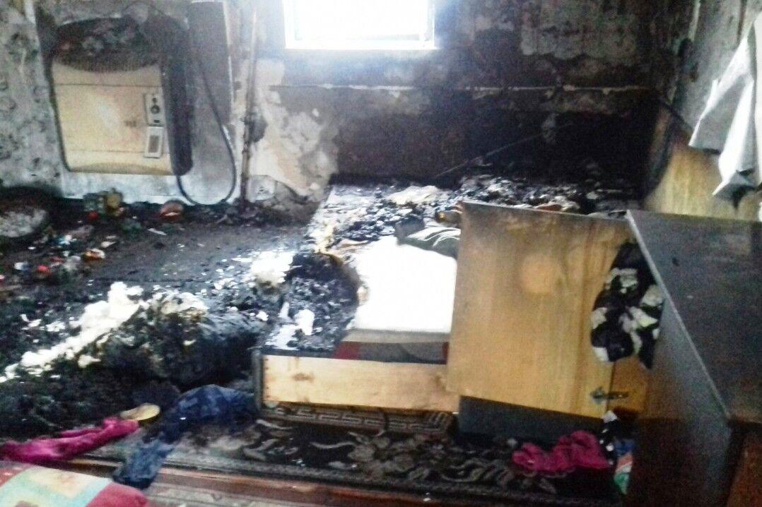 Пожар на Черниговщине унес жизнь ребенка