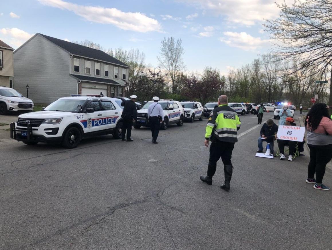 На місце НП приїхало багато поліцейських