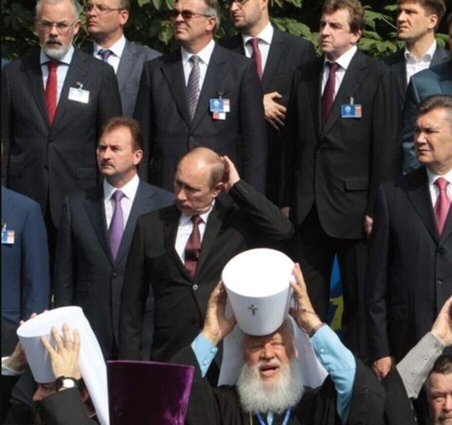 Путін на заходах у Києві, присвячених 1025-річчю Хрещення Русі