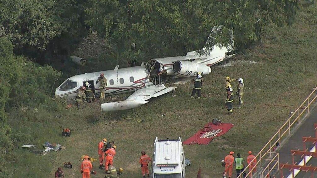 Авиакатастрофа произошла в Бразилии.