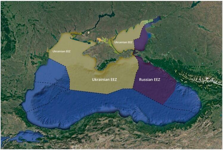 Мапа морських кордонів