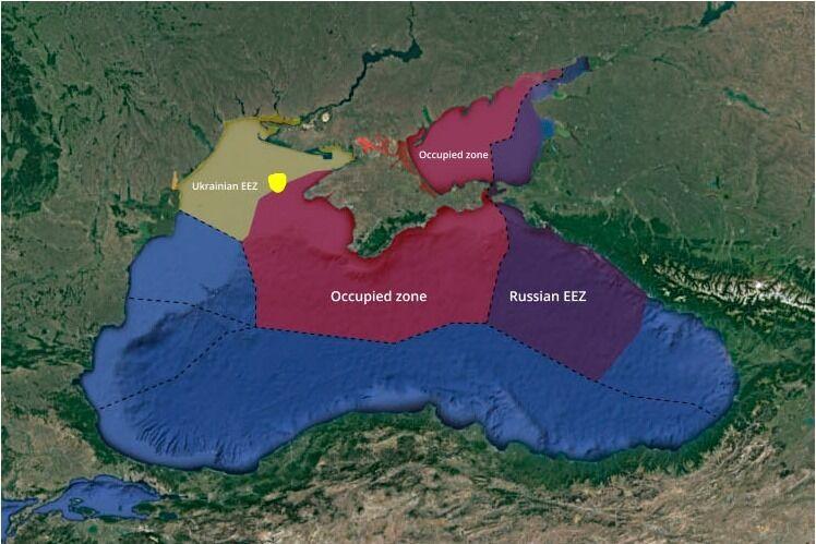 За роки незалежності не завершено процедуру офіційного встановлення морських кордонів між Україною та РФ