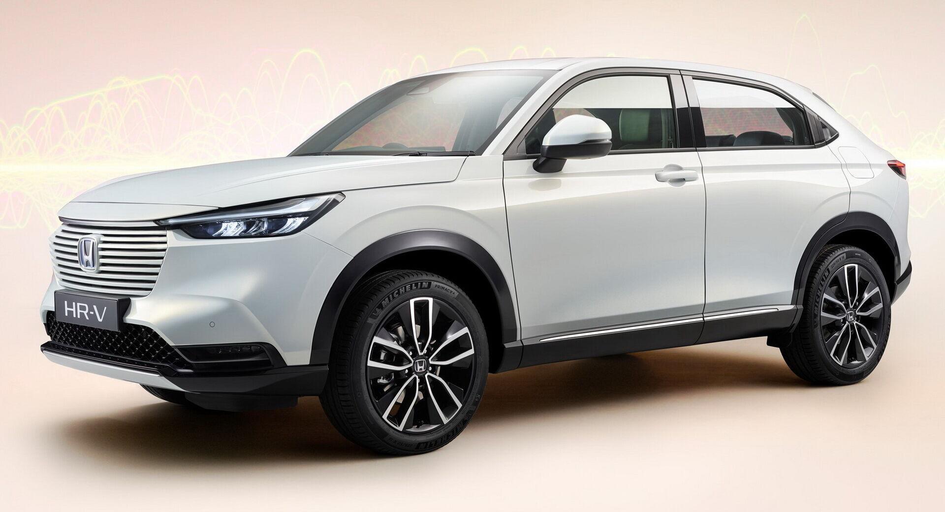 Honda HR-V e:HEV получит в свое распоряжение гибридный силовой агрегат