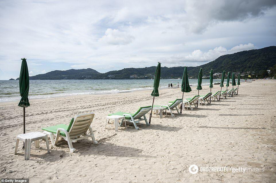Як зараз виглядає пляж.
