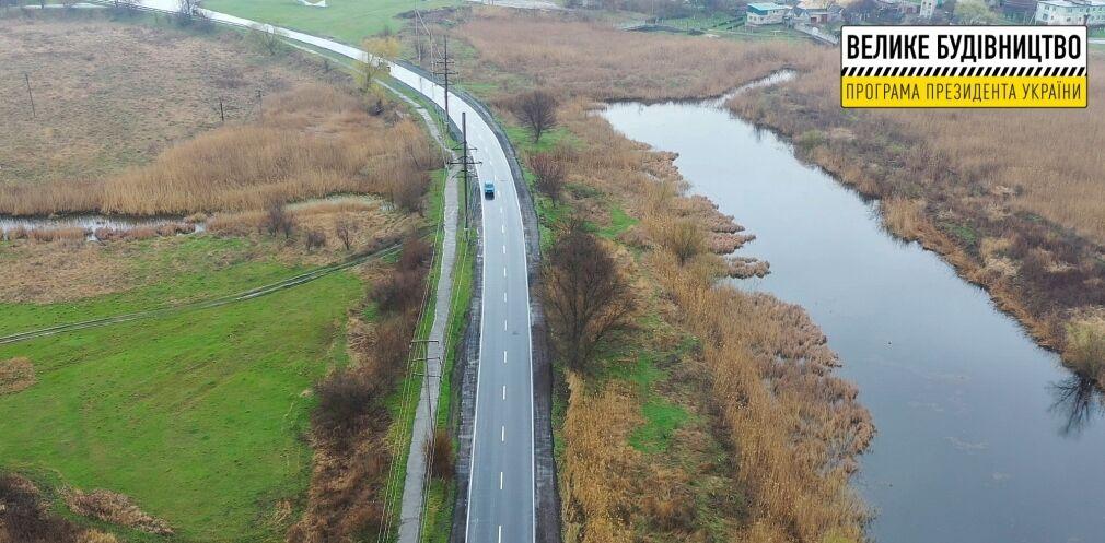 Ремонт объездной дороги поселка Кринички завершили