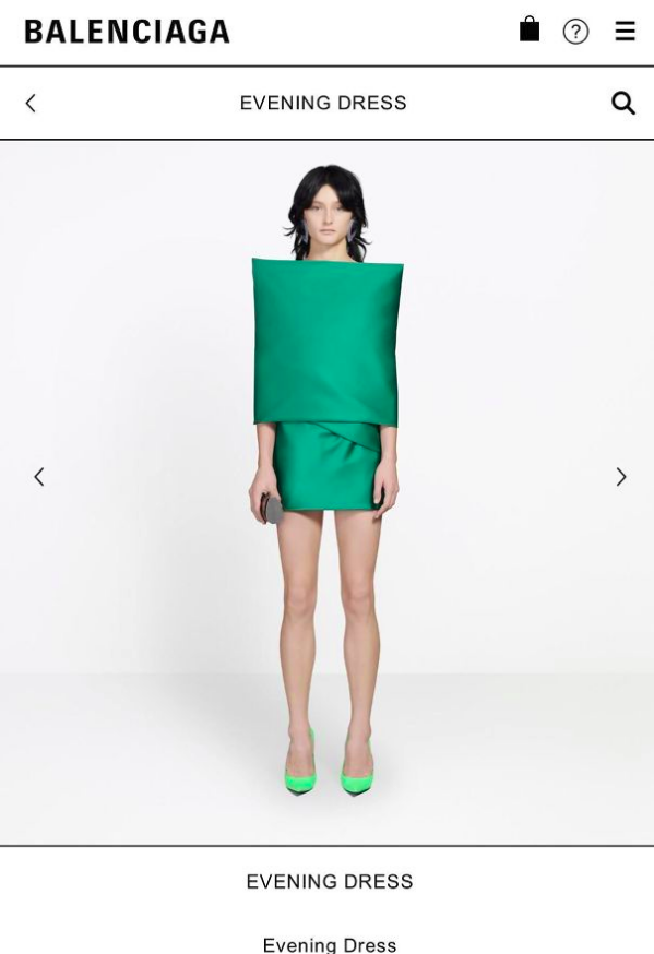 Платье стоит 5 тысяч долларов.