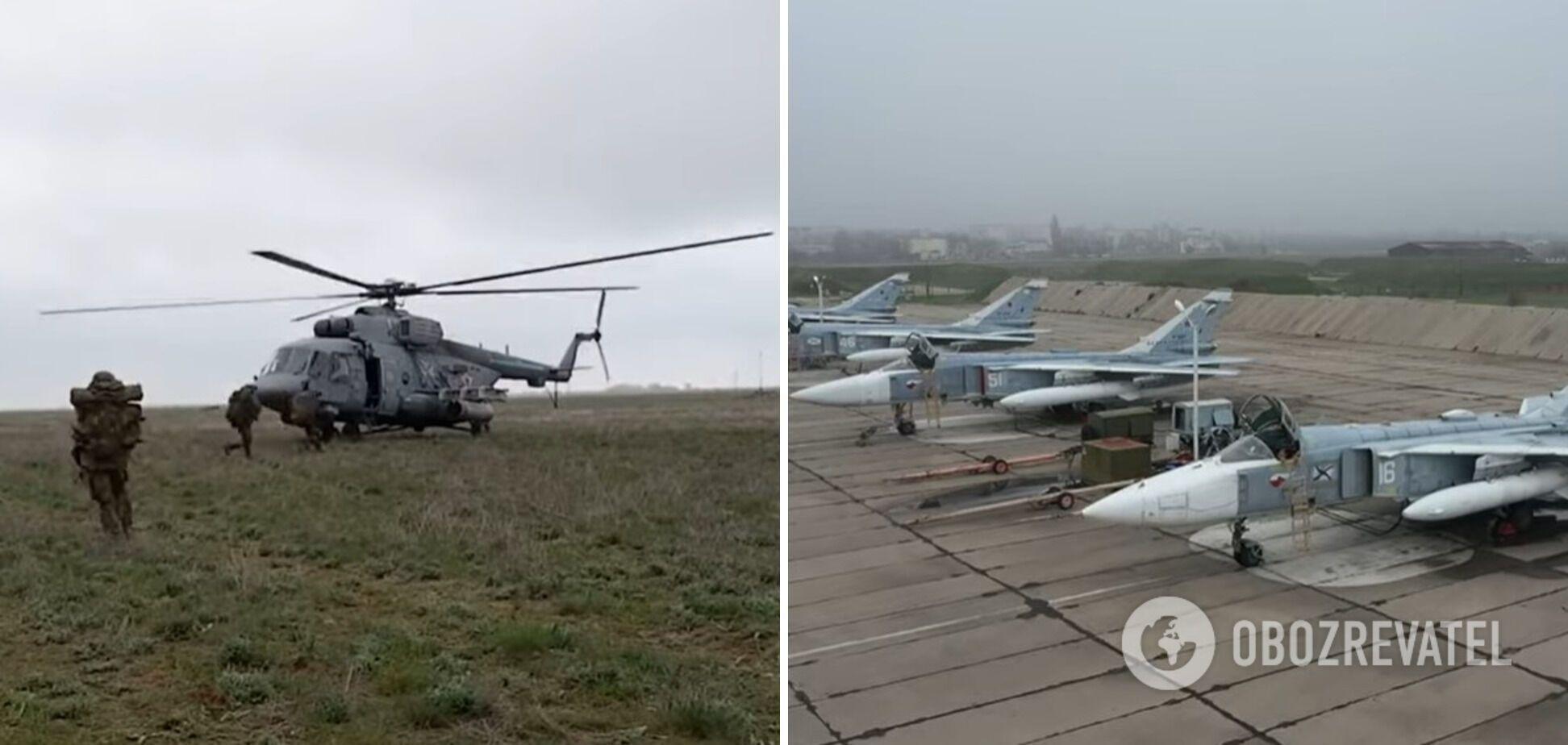 РФ стягнула військову техніку до Криму для навчань