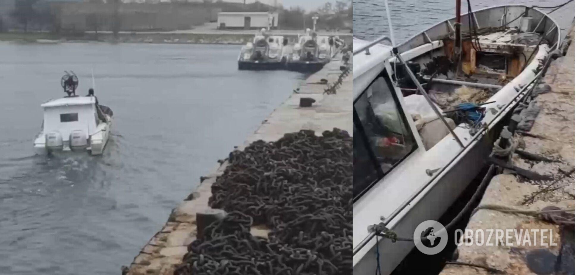 У Криму затримали катер із українцями