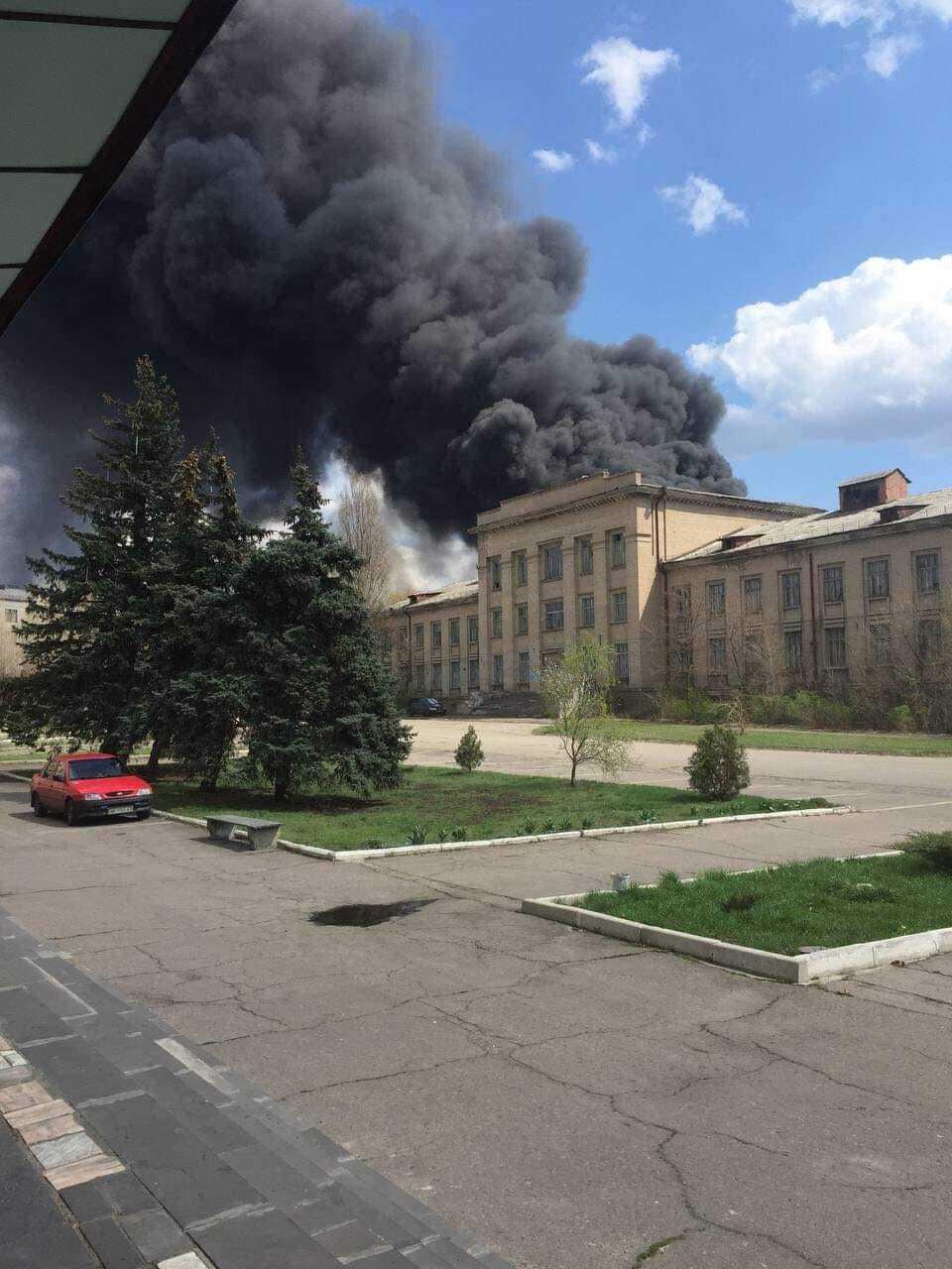 Під час пожежі в Рубіжному постраждали люди
