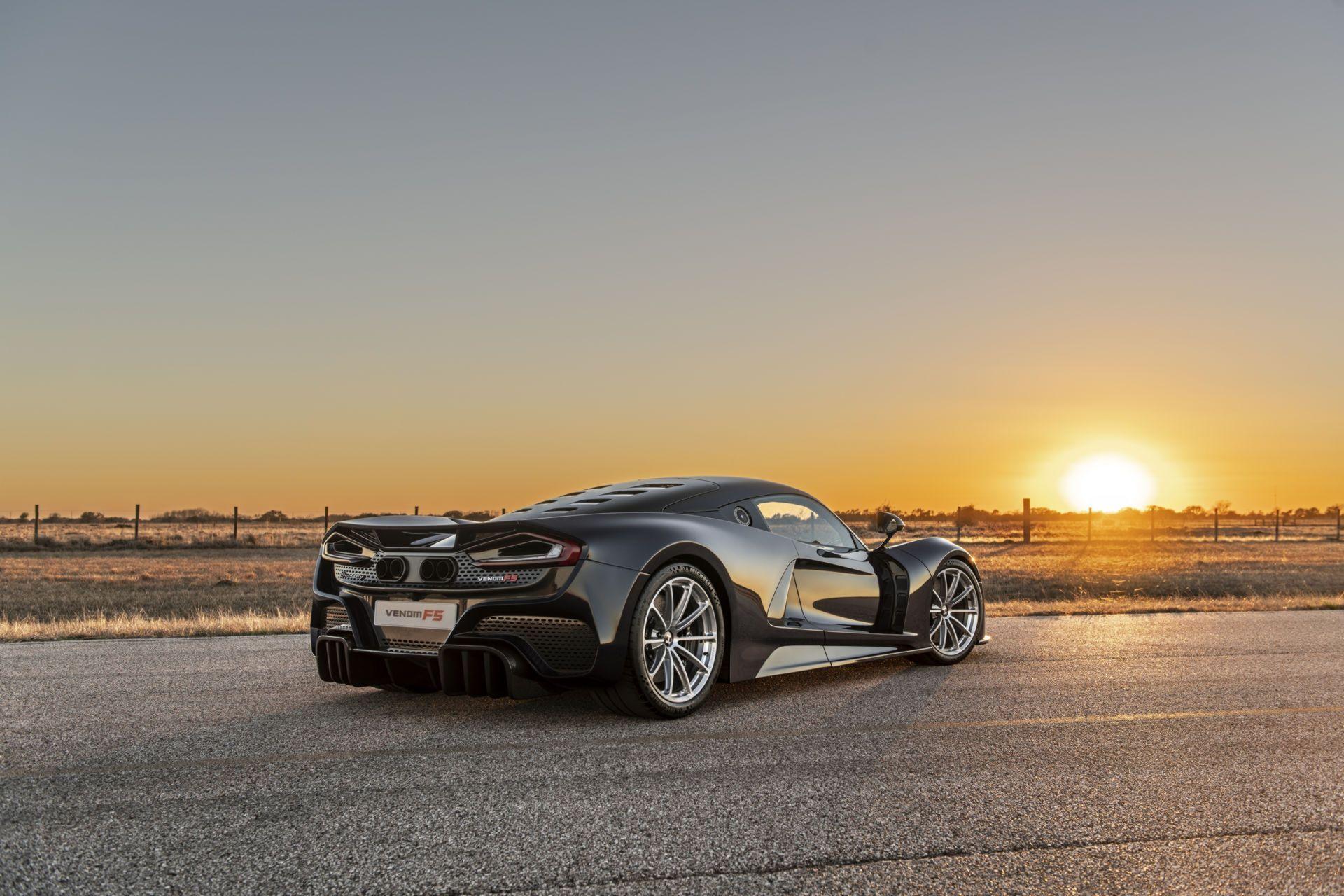 Hennessey Venom F5 претендует на звание самого быстрого автомобиля в мире