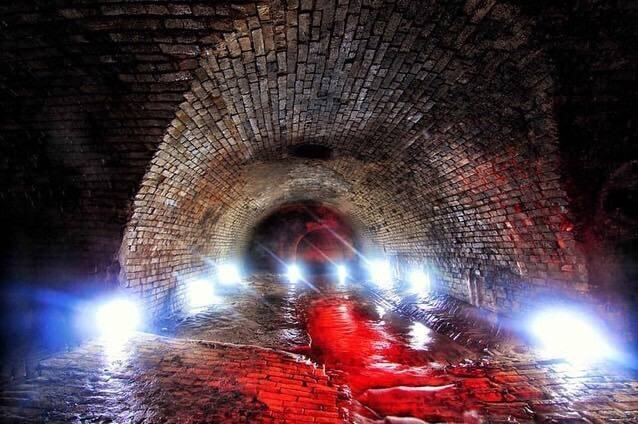 Подземелья под Крещатиком.