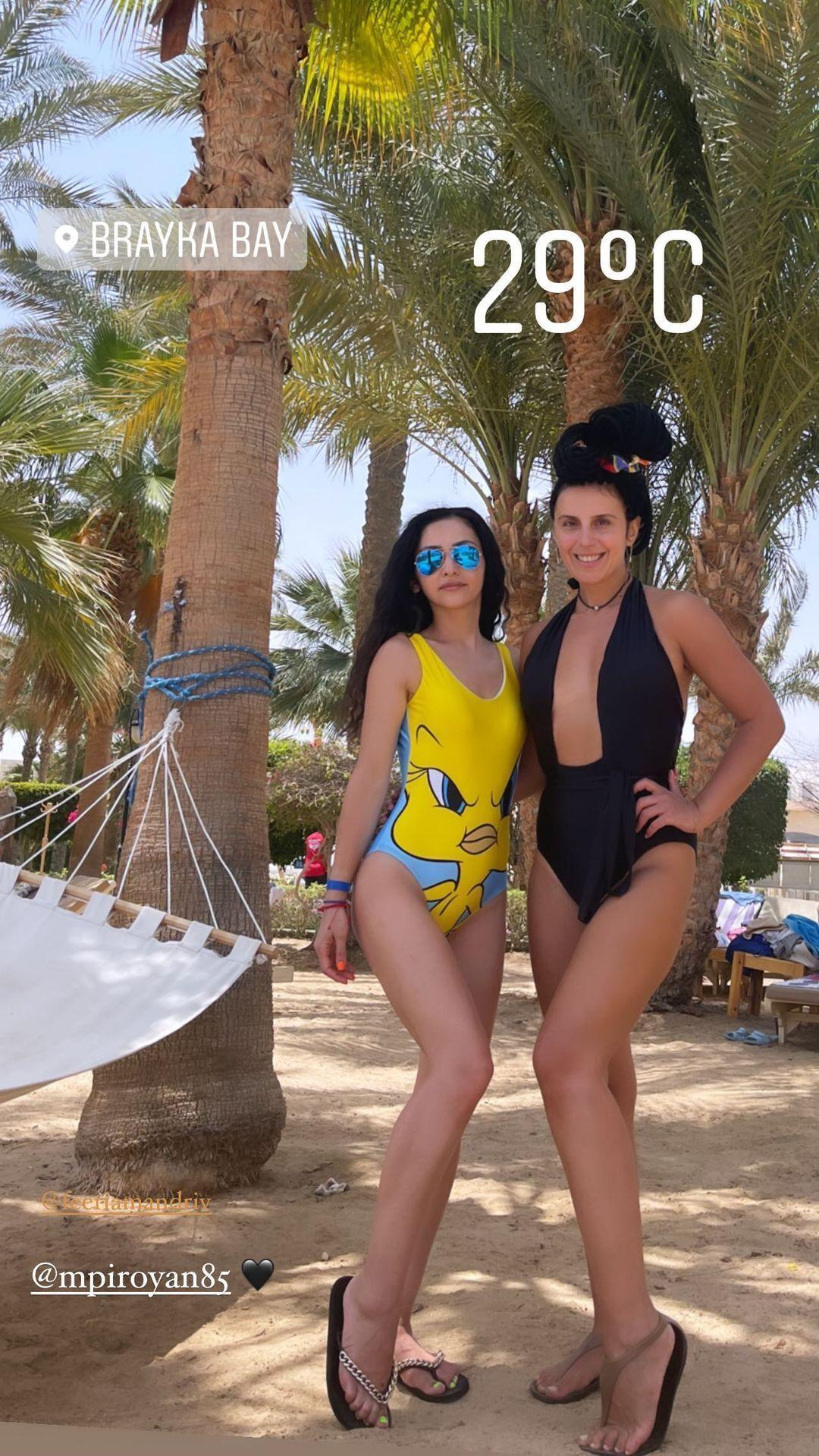 Джамала на відпочинку в Єгипті