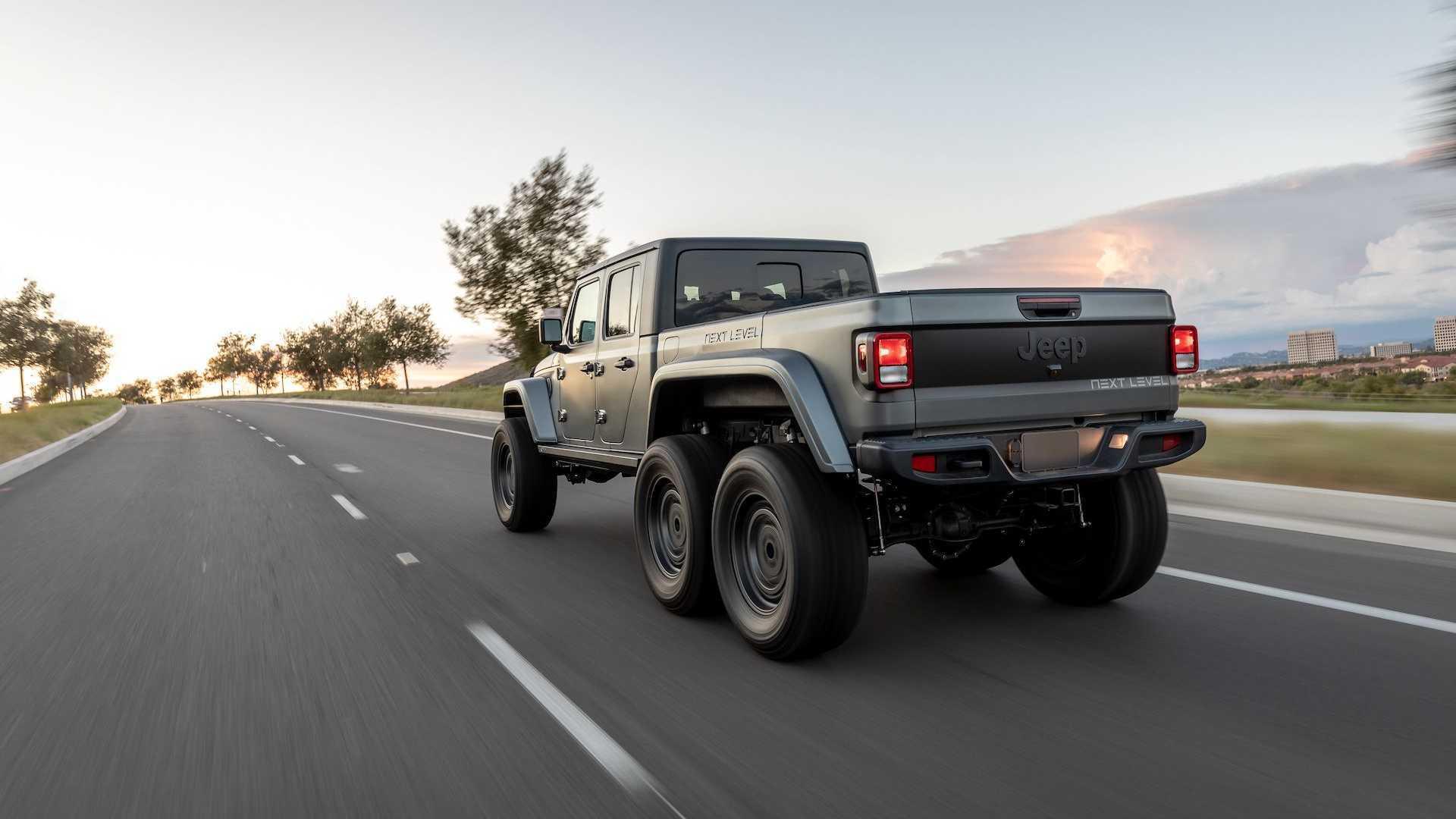Первое творение Next Level – Jeep Gladiator 6x6