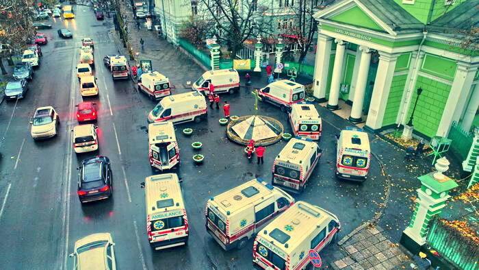 Черга зі швидких в Одесі