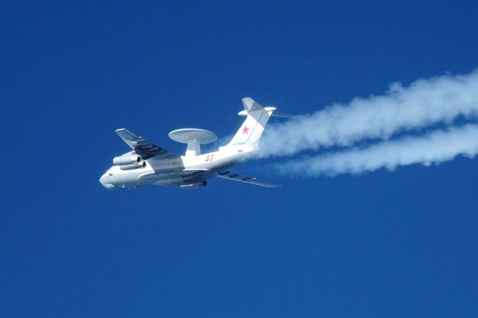 Група російських військових літаків здійснювала польоти над міжнародними водами в Балтійському морі