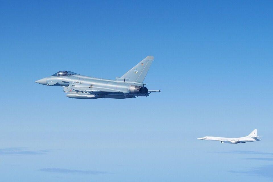 НАТО засік бомбардувальники Ту-160 ВС РФ