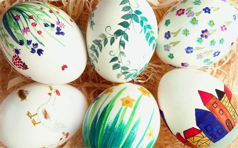 Розмальовані яйця