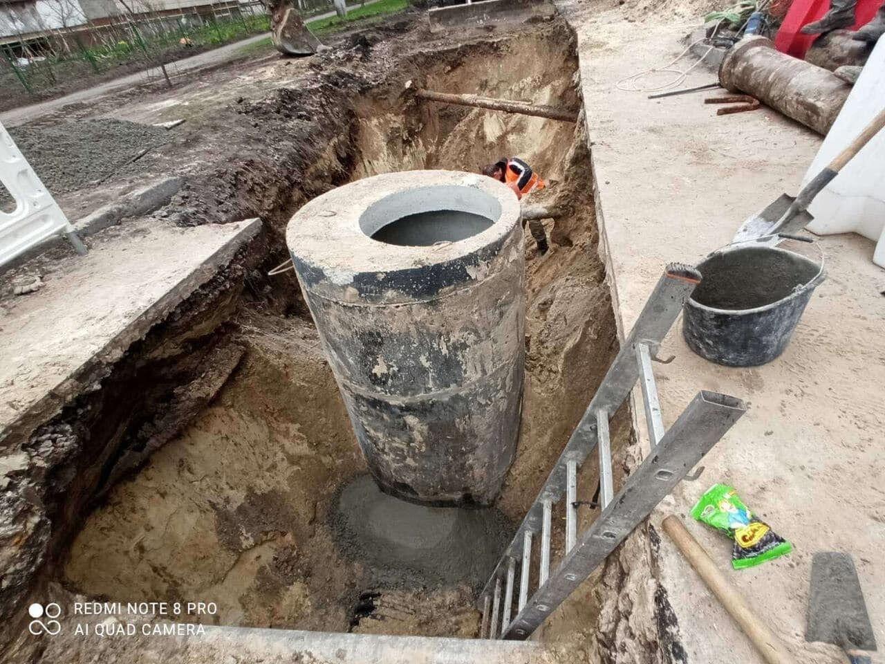 Почали реконструкцію самого проблемного колектора міста.